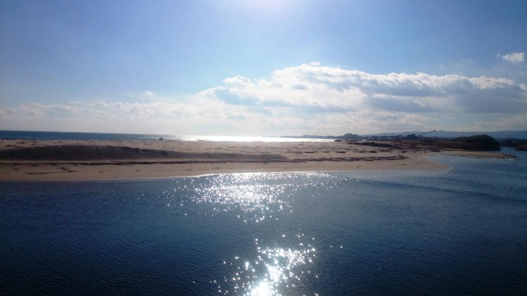 北茨城の海