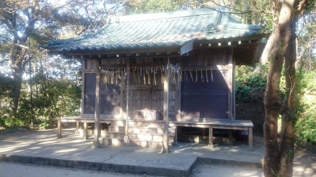 弟橘媛神社本堂