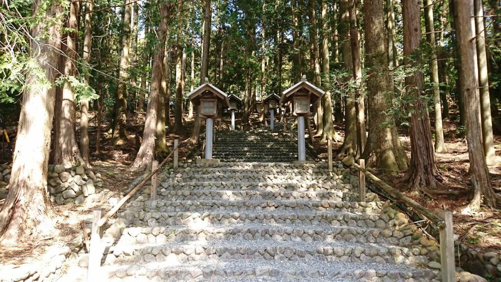 秋葉神社下社の石段