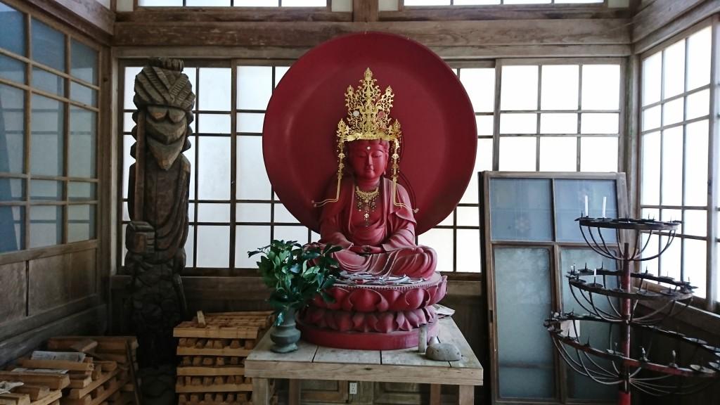 秋葉寺の仏像