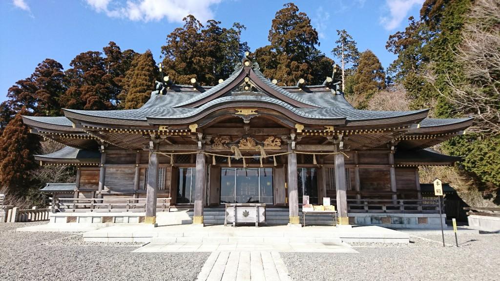 秋葉神社上社 本殿