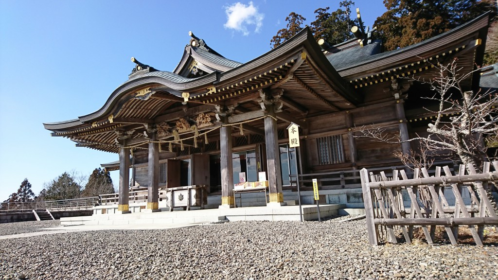 秋葉神社上社 本殿2