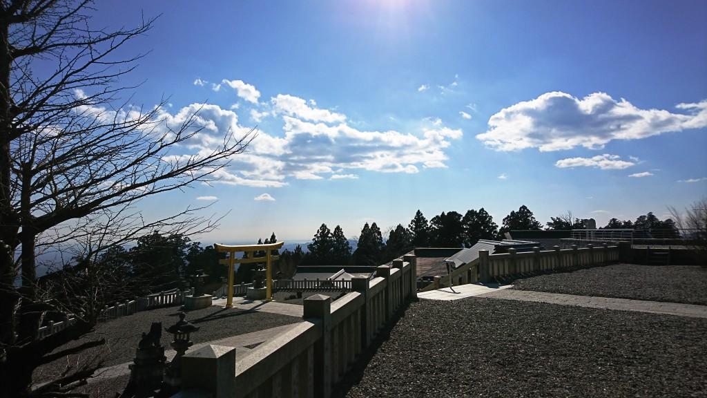 秋葉神社からの眺め