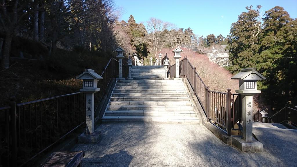 秋葉神社上社 石段