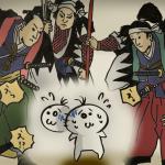 泉岳寺 赤穂義士のイラスト